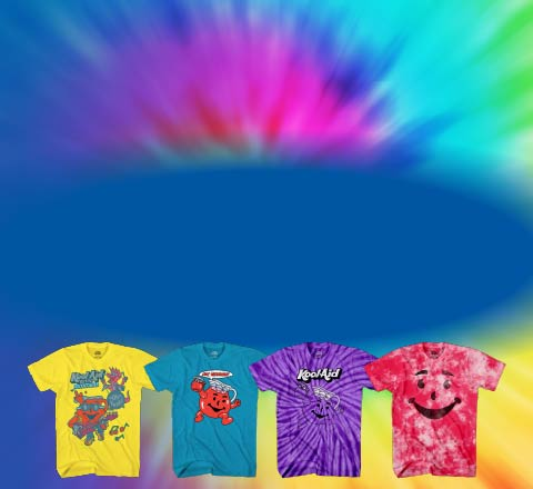 Dress Kool with Tie Dye Kool-aid Shirts